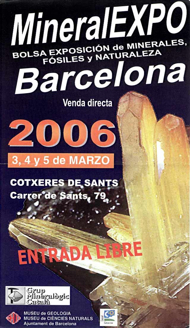 Novedades Mineralexpo 2006 - Barcelona