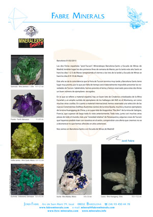 Mineralexpo 2013