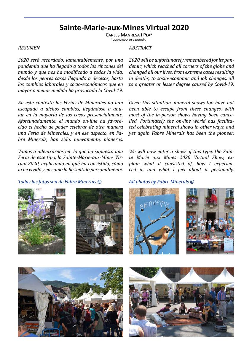 Sainte-Marie-aux-Mines 2020 (Virtual)