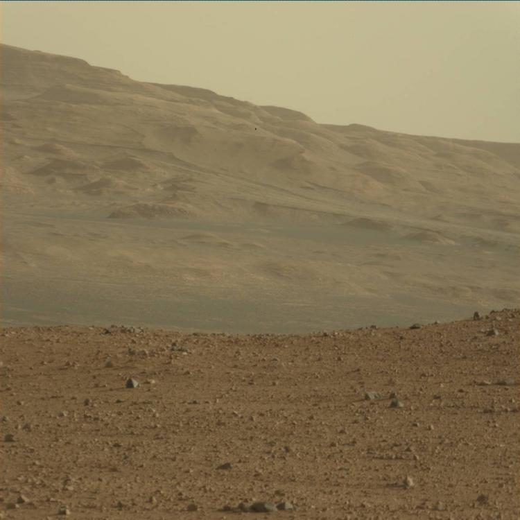 ¡El rover Curiosity en Marte!