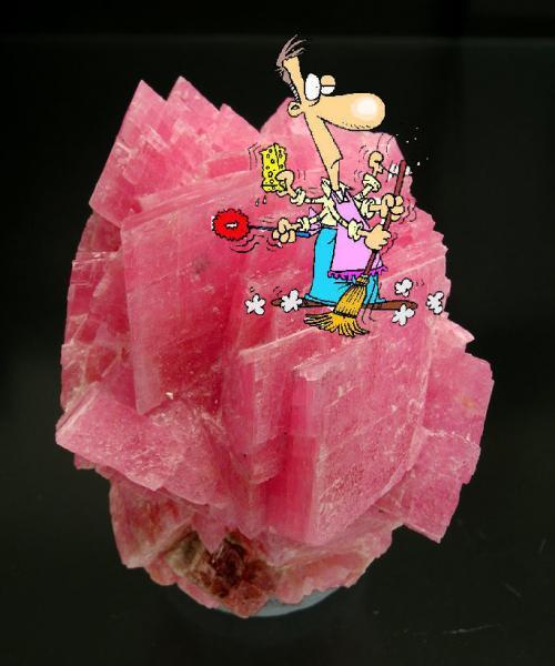 Sensitive minerals