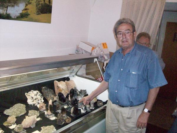 Semblanzas mineralógicas - Enric Kucera. Medio siglo de Ilusión