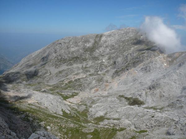 Ándara. El Macizo Oriental de Picos de Europa