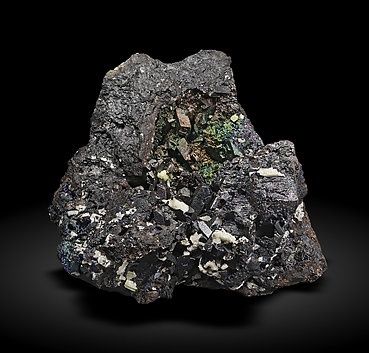 Anglesite after Cerussite on Goethite.