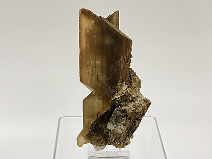 Gypsum with inclusions.