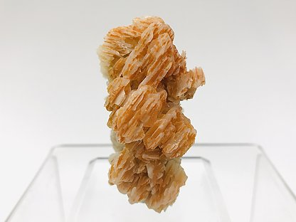 Mimetite (variety Chromium-rich) on Cerussite.