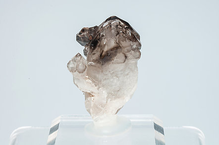 Quartz (varieties smoky and scepter).