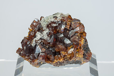 Sphalerite with Baryte.