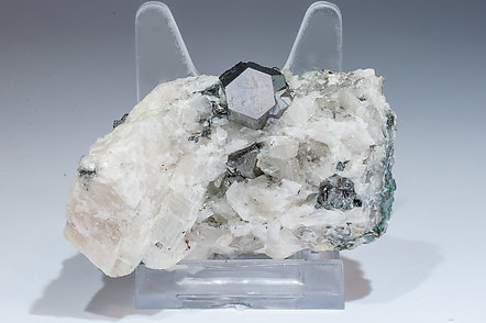 Carrollite with Calcite.