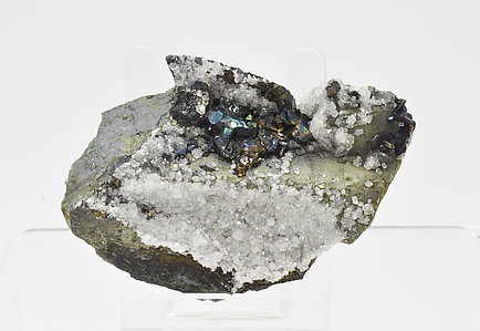 Bornite after Chalcocite and with Calcite.