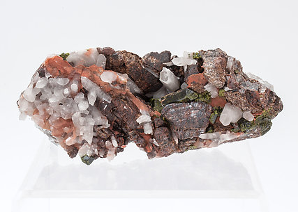 Andradite with Epidote and Quartz.