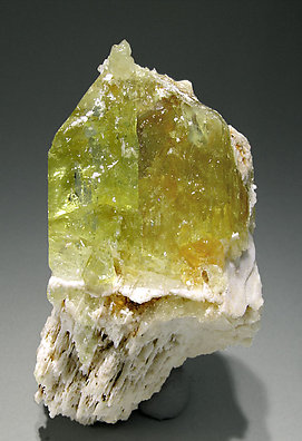 Brazilianite with Orthoclase.