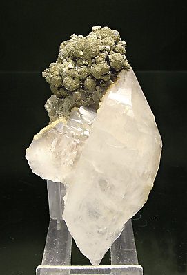 Pyrite with Marcasite and Quartz.