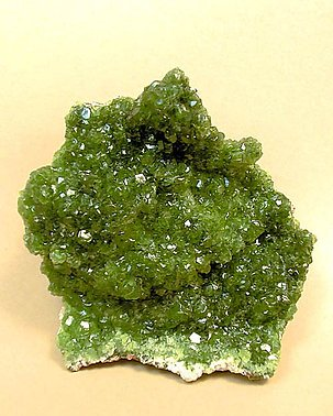 Smithsonite (variety cuprian).
