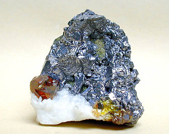 Sphalerite with Galena. Rear