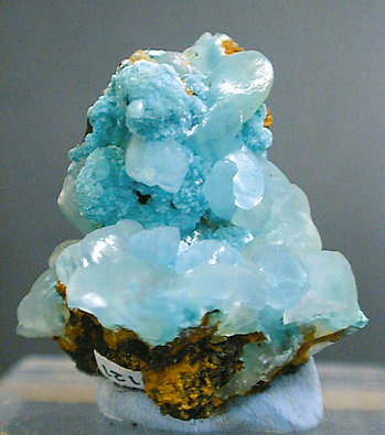 Smithsonite with Aurichalcite.