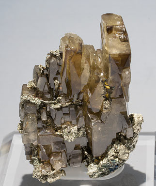 Baryte with Pyrite.