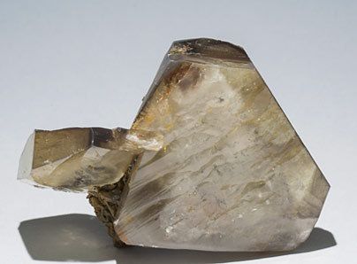 Baryte with Pyrite. Rear