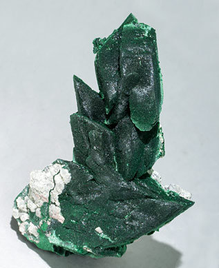Malachite after Azurite.