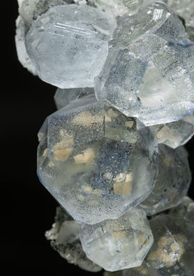 Quartz with Fluorite and Calcite-Dolomite.