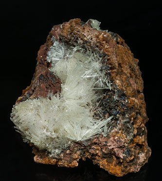 Scholzite. Side