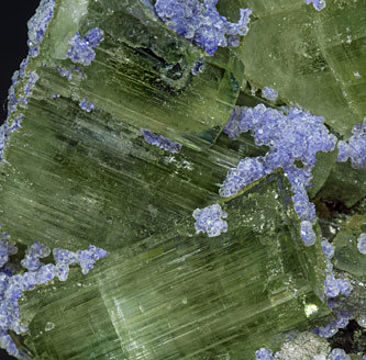 Fluorite with Fluorapatite, Arsenopyrite and Muscovite.