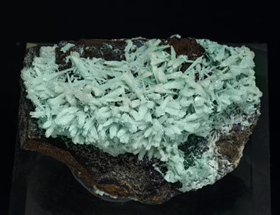 Tarbuttite with Hydroxylapatite and Hemimorphite. Top