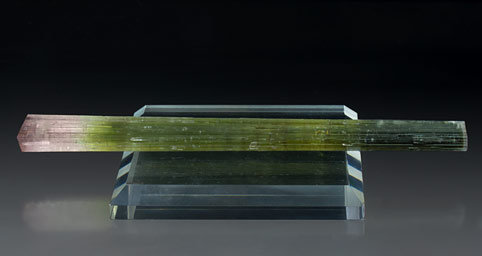 Doubly terminated Elbaite.