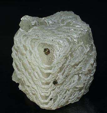 Calcite-Dolomite with Pyrite and Muscovite. Front