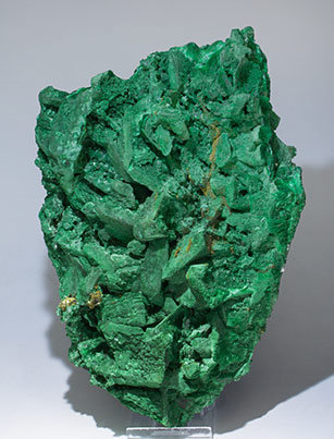 Tangeite with Malachite after Azurite.