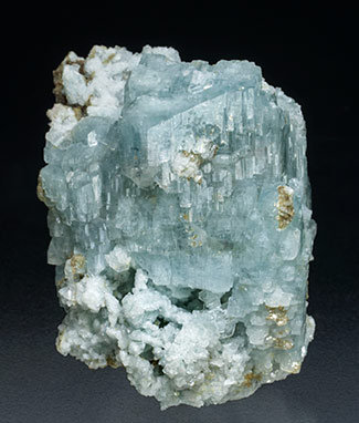 Albite with Muscovite. Front