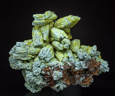 Pyromorphite and Plumbogummite.
