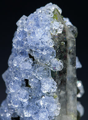 Fluorite with Quartz and Muscovite.