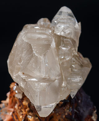 Cerussite with Baryte.