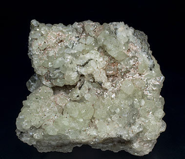 Datolite with Stilbite-Ca.