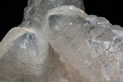 Calcite with inclusions.