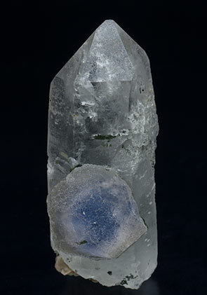 Fluorite with Quartz and Siderite.