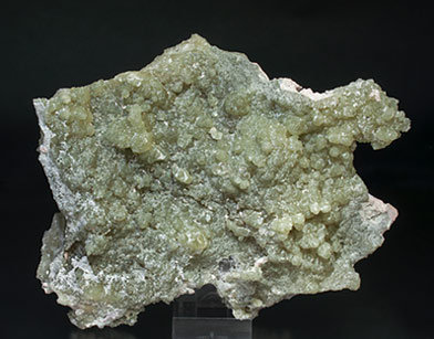 Clinozoisite-Epidote with Prehnite, Microcline and Quartz. Rear