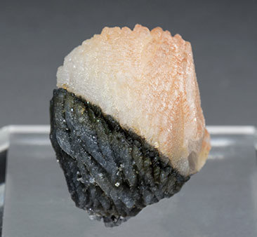 Calcite with Boulangerite inclusions. Front