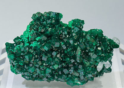 Dioptase with Cerussite.