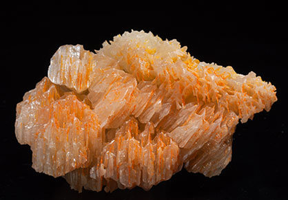 Chromium-rich Mimetite on Cerussite. Side