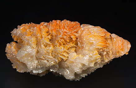Chromium-rich Mimetite on Cerussite. Top