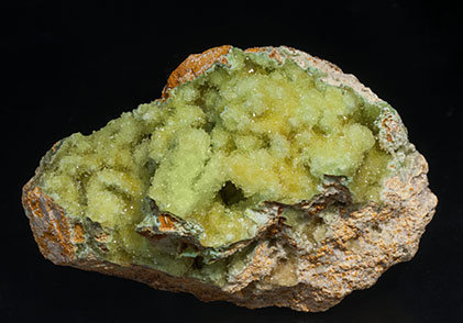 Senegalite with Turquoise and Crandallite.