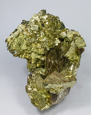 Chalcopyrite with Siderite. Side