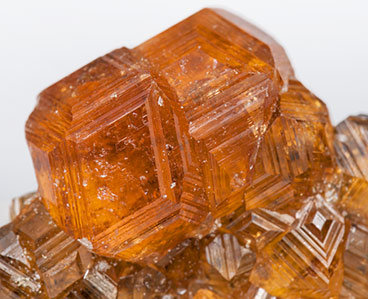 Grossular (variety hessonite).