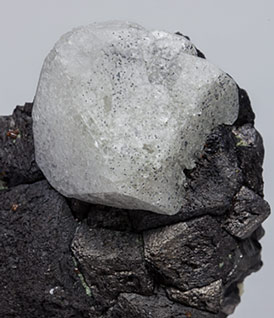 Scheelite on Magnetite.