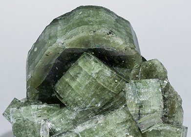 Fluorapatite with Quartz.