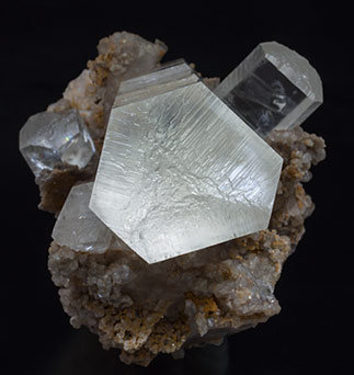 Doubly terminated Calcite. Top