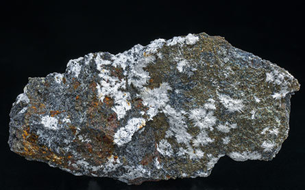 Canavesite with Pyrite.