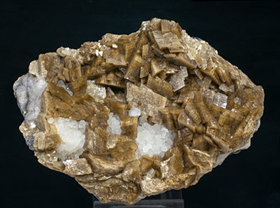 Siderite with Quartz. Side